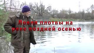 Рыбалка поздней осенью и ранней весной