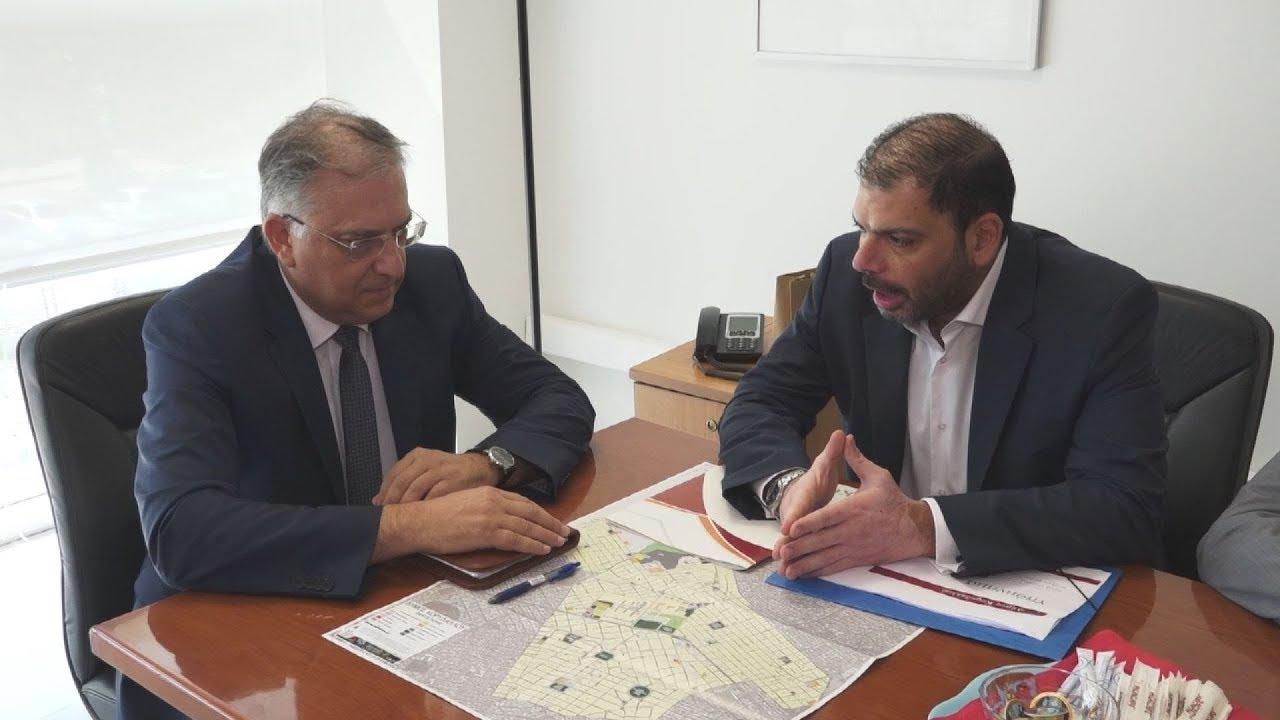 Συνάντηση ΥΠΕΣ με τον δήμαρχο Κορυδαλλού