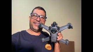 BATE PAPO SOBRE DRONES DJI, VOO MANUAL DJI FPV COMBO E TD SOBRE DRONES