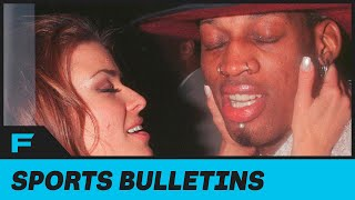 Carmen Electra Says Her And Dennis Rodman Got FREAKY ALL OVER Bulls Practice Facility