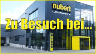 Firmenbesuch bei Nubert Electronic GmbH