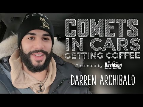 [UTI] Comets In Cars Getting Coffee: Darren Archibald