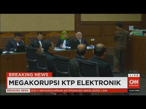 Breaking News! Sidang Lanjutan Skandal Megakorupsi Proyek E-KTP (Part 1)