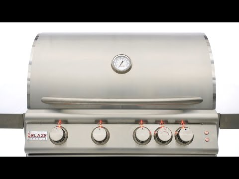 Blaze LTE Gas Grill Overview   Blaze Outdoor Products