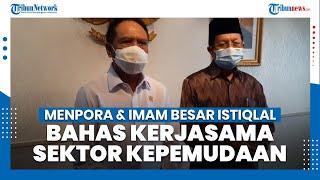 Menpora Terima Imam Besar Masjid Istiqlal Bahas Kerjasama Sektor Kepemudaan