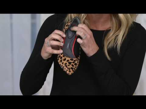Rockport Total Motion Leather Kitten Heel Pumps on QVC