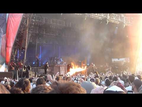 Rammstein - Benzin Fan on fire