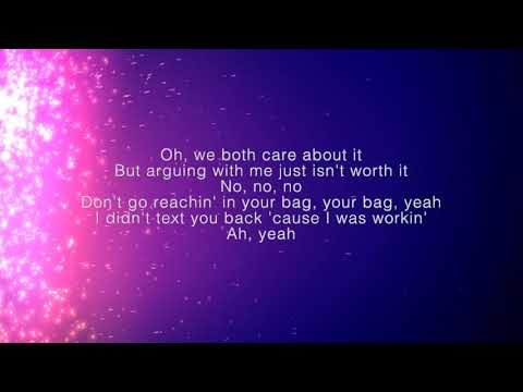 Khalid - My Bad | Lyrics On Screen