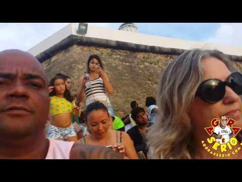 Repórter Favela e Cris Opheo - O por do sol mais lindo da Bahia.