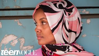 Model Halima Aden Returns To The Refugee Camp She Was Born In | Teen Vogue