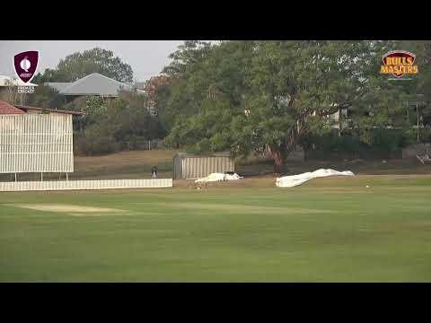 Bulls Masters First Grade Cricket - Round 9  - South Brisbane v Gold Coast District (Day 1)
