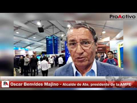 CADE 2017: Entrevista a Oscar Benavides, alcalde de ATE y presidente de la AMPE