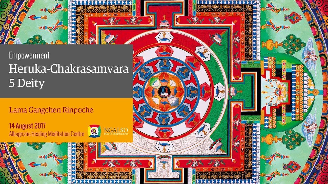 Heruka-Chakrasamvara 5 Deity empowerment - part 1