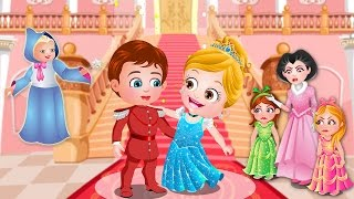 Baby Hazel Cinderella Story Gameplay | Fairy Tale Games For Kids To Play