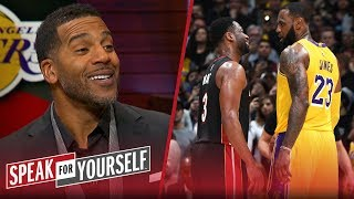 Jim Jackson reacts to final meeting of LeBron James and Dwyane Wade | NBA | SPEAK FOR YOURSELF