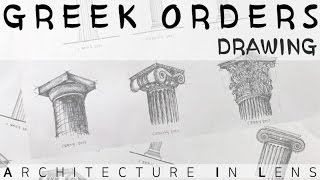 HMONGHOTCOM  Comparative thoughts  Greek Columns Drawing