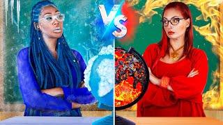 Hot vs Cold  Teacher / 16 DIY Weird College Supplies