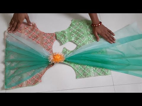 Designer and Party Wear Baby Frock cutting and Stitching Full Tutorial in hindi । by Simple cutting