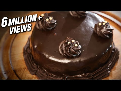 Video Chocolate Truffle Cake | Eggless Chocolate Dessert Recipe | Beat Batter Bake With Upasana