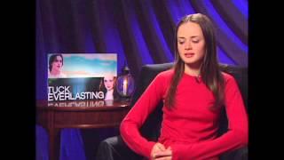 Tuck Everlasting: Alexis Bledel Winnie Foster Exclusive Interview
