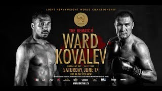 Ward vs Kovalev 2: Rematch – June 17 in Las Vegas