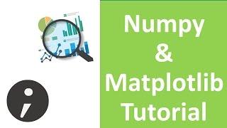 Numpy and Matplotlib Tutorial