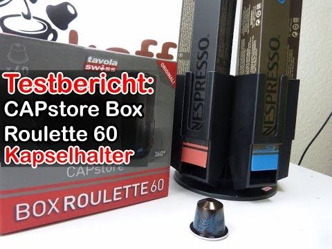 CAPstore Box Roulette 60 im Test (Kapselhalter für Nespresso-Kapseln)