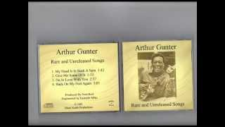 ARTHUR GUNTER -  RARE  UNRELEASED SONGS