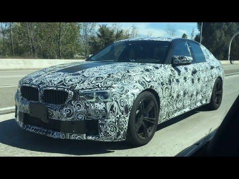 BMW M5 F90 Mule