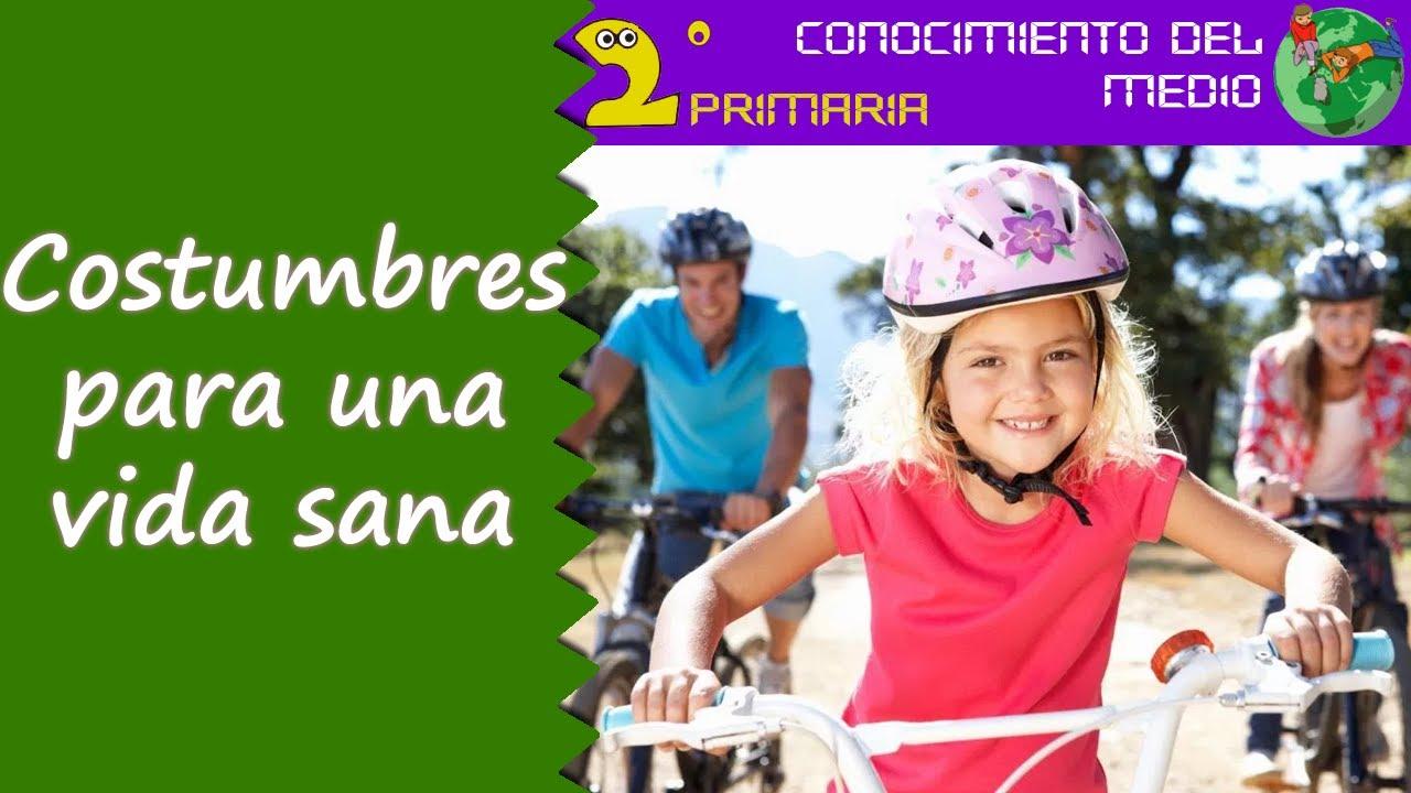 Cono, 2º Primaria.  Tema 3. Costumbres para una vida sana