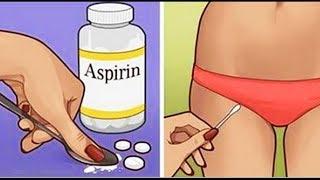 Что Может Сделать для Вас АСПИРИН? ✅7 Лайфхаков с Аспирином для Вашей 🌷КРАСОТЫ