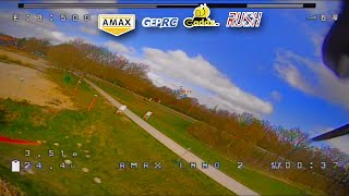 Amax Inno F5 FPV Test Flight # 3 (FPV setup test) (unedited DVR) - 2021-04-03