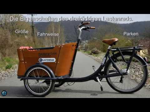 Lastenrad Test: Wie fährt sich ein Dreirad