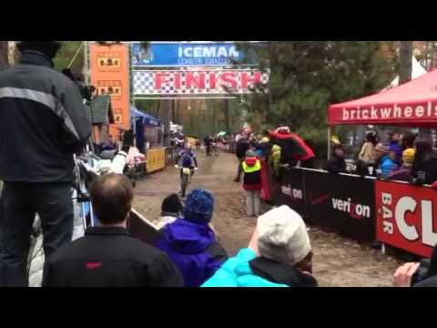 2013 Iceman pro women's winner finishing
