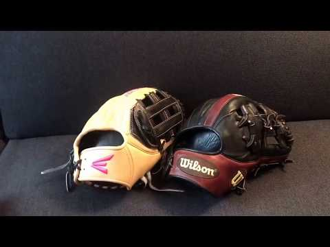 Easton legacy elite vs Wilson a2k WHICH IS A BETTER GLOVE?!?!