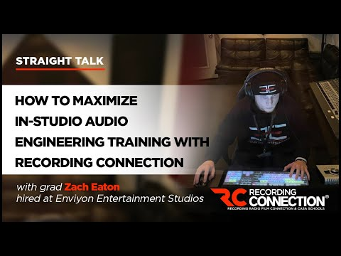 Audio Engineering Training: How to Make the Most of Recording ...