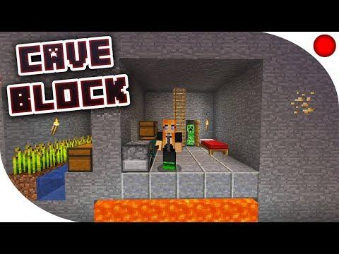 CAVE BLOCK | Minecraft BlueMC.pl [Zapis LIVE]