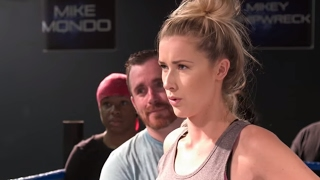 Noelle Foley learns how to take a back body drop (WWE Network Exclusive)