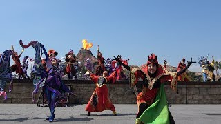 TDSハロウィンザ・ヴィランズ・ワールド2017初週ミキ広1回目公演