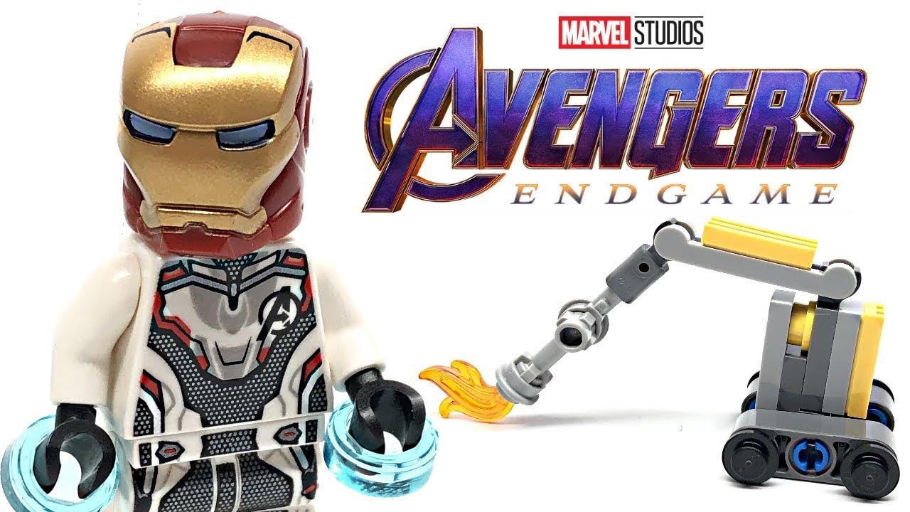 LEGO Avengers Endgame Iron Man and Dum-E review! 2019 polybag 30452!
