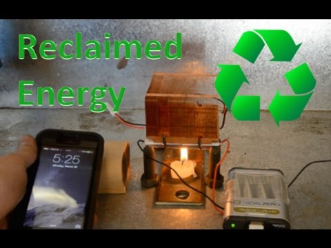 How to Build a DIY Themoelectric Generator