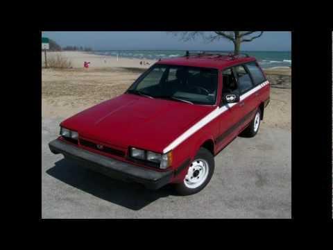 88 Subaru DL Wagon 4wd