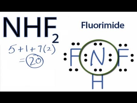 nhf2 lewis structure: how to draw the lewis structure for nhf2