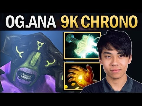 THE GAME THAT OG.ANA SHOWS US HOW TO 9K CHRONO - DOTA 2 PRO GAMEPLAY