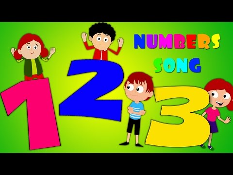Numbers Song | Learn To Count 1 to 10 | Learn Numbers For Kids And Childrens | 123 Song