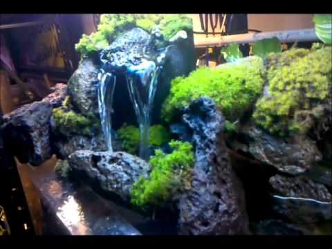 Download link youtube check out my waterfall i built for for Waterfall fish tank