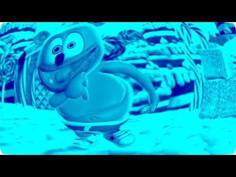 BLUE *& FISHEYE & LOW PITCH Gummibär REQUEST  VIDOE I Want Candy Gummy Bear Song