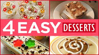 4 Easy Iftar Dessert Recipes By Food Fusion (Ramzan Special Recipes)
