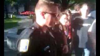 preview picture of video 'Keene Open Container Mass Arrests'
