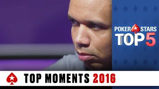 Top 5 Poker Moments | PokerStars